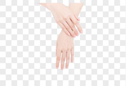 女性美甲指甲展示图片