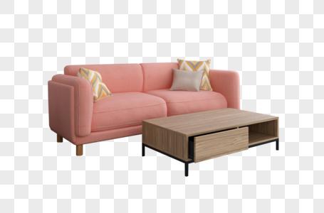 沙发桌子图片