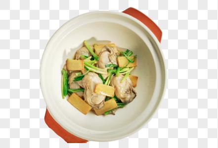 砂锅姜葱焗生蚝图片