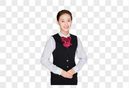 年轻的客服代表美女 商务美女职业形象图片