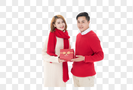 男生送女友礼物图片
