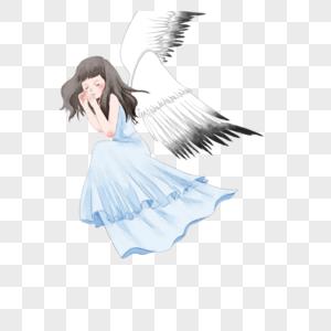带翅膀的美女图片