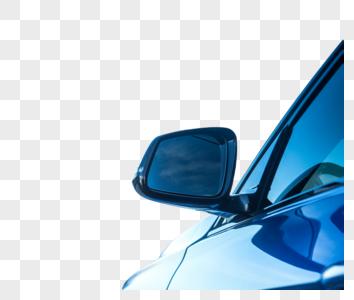 汽车的车身以及特写图片