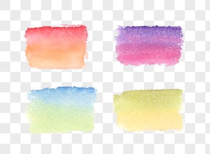 水彩渐变色块图片