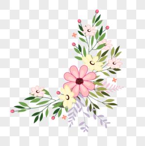 花卉边框装饰图片