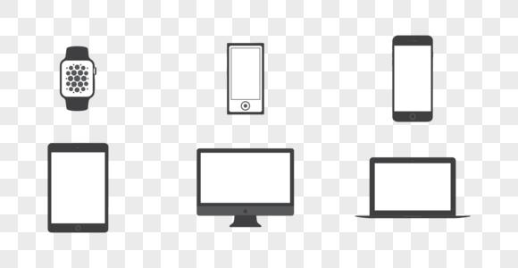 智能手机电脑图标图片
