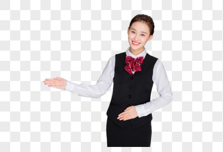 商务美女职业形象图片