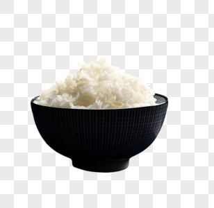 白米饭图片