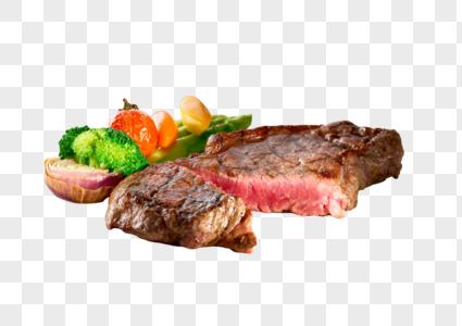 煎牛排图片