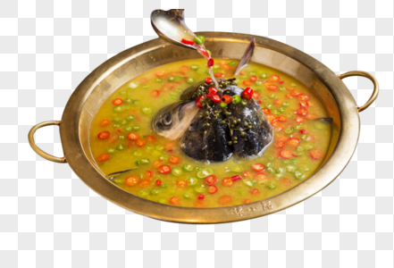 鱼头火锅图片
