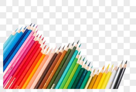 各种颜色的铅笔图片