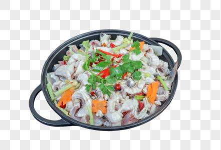 一锅鱼肉图片