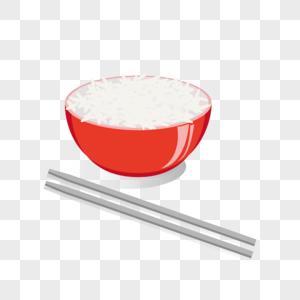 一碗米饭大米稻米五谷杂粮图片