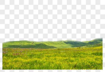 平原山丘图片