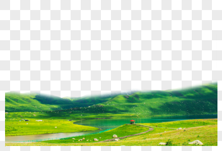 延绵山丘图片