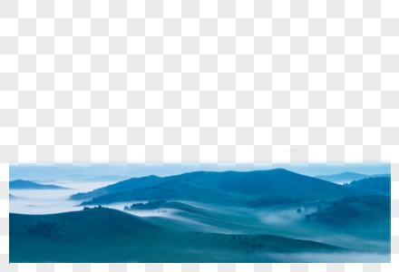 云雾青山图片