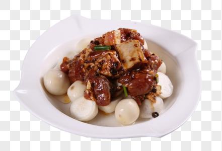 豉汁排骨蒸芋艿图片