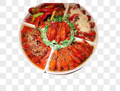 龙虾大餐图片