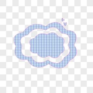 格子云图片