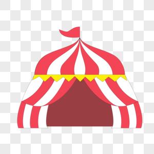 卡通愚人节彩色帐篷图片
