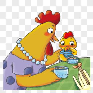 鸡妈妈图片