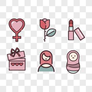 母亲节图标图片