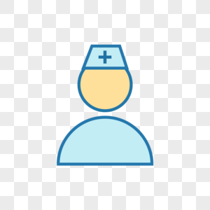 矢量医护人员icon图标图片