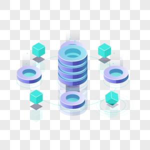 科技感抽象数据图片
