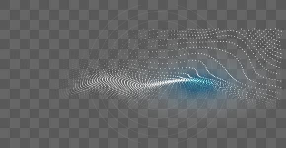 科技感粒子线图片