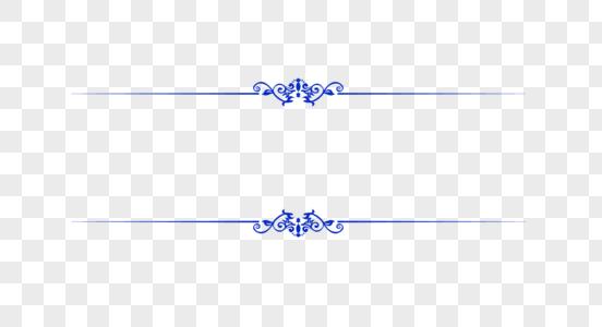 创意青花瓷花纹边框图片