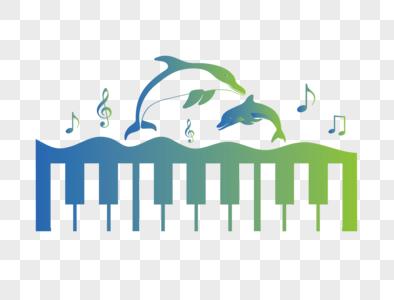 海豚跳出水面图片