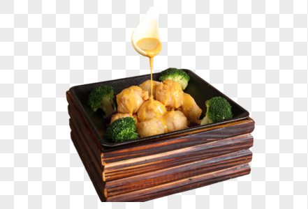 咖喱皇杂菜鱼付图片