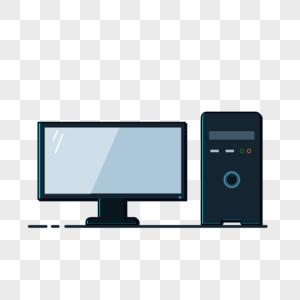 台式机插画元素图片