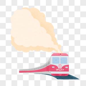 行驶的火车图片