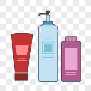 洗漱套装元素图片