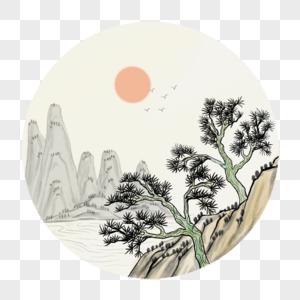 中国风山水图片