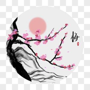 中国风梅花图片