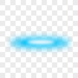蓝色炫酷光效图片