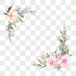 手绘水彩玫瑰图片