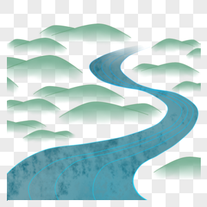 河流山川图片