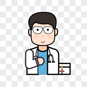 医生卡通人物素材图案图片