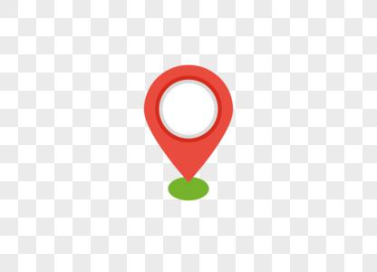 手机定位地址图标AI矢量图图片