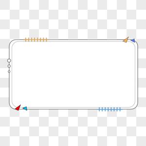 矩形边框图片