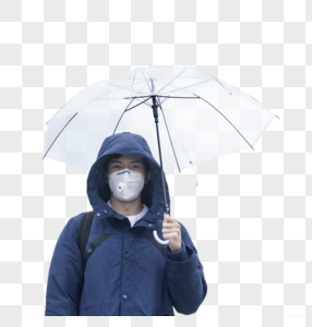 口罩男人图片