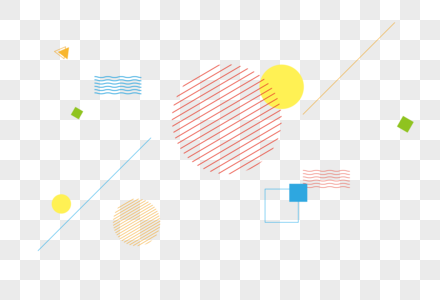 几何背景小元素图片
