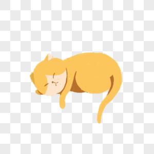 睡觉的猫图片