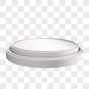 银灰色圆形舞台台阶图片