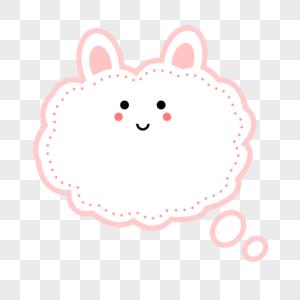 兔子卡通边框图片