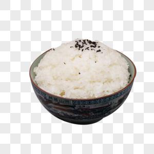 香喷喷的白米饭图片