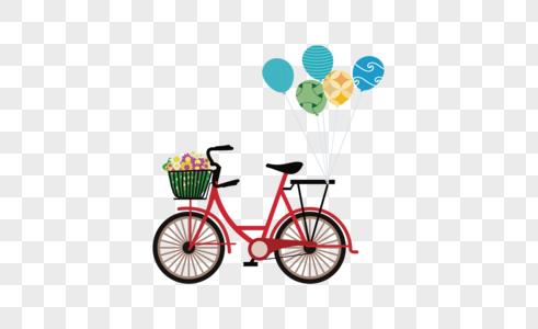 自行车免抠元素图片